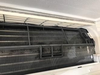 Evaporator coil clean